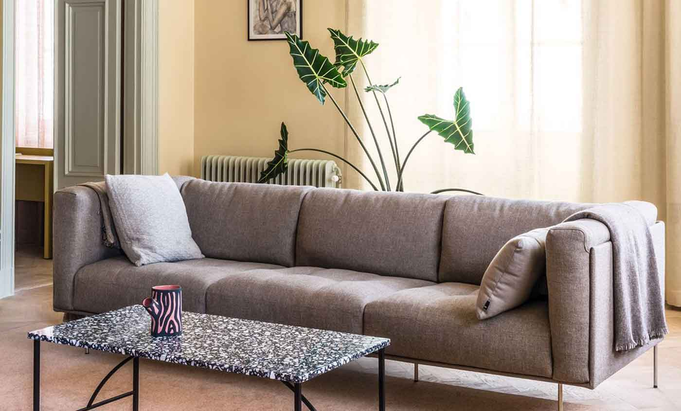 Make a small living room feel larger