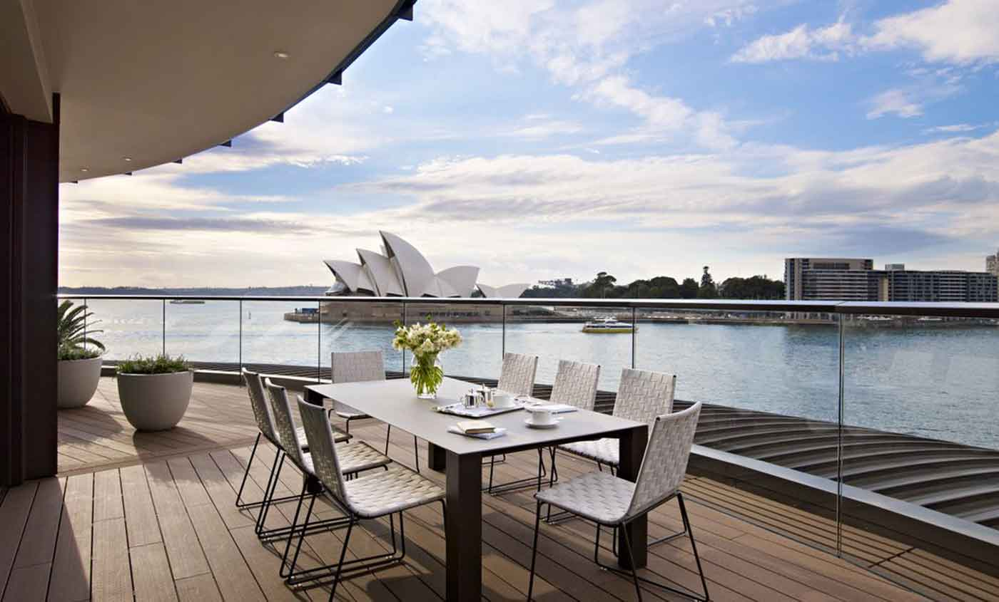 Sydney's most expensive suite is $21,000 a night